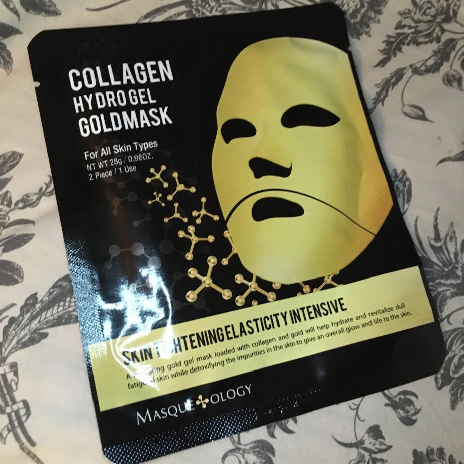 Collagen Hydro Gel Gold MaskReview