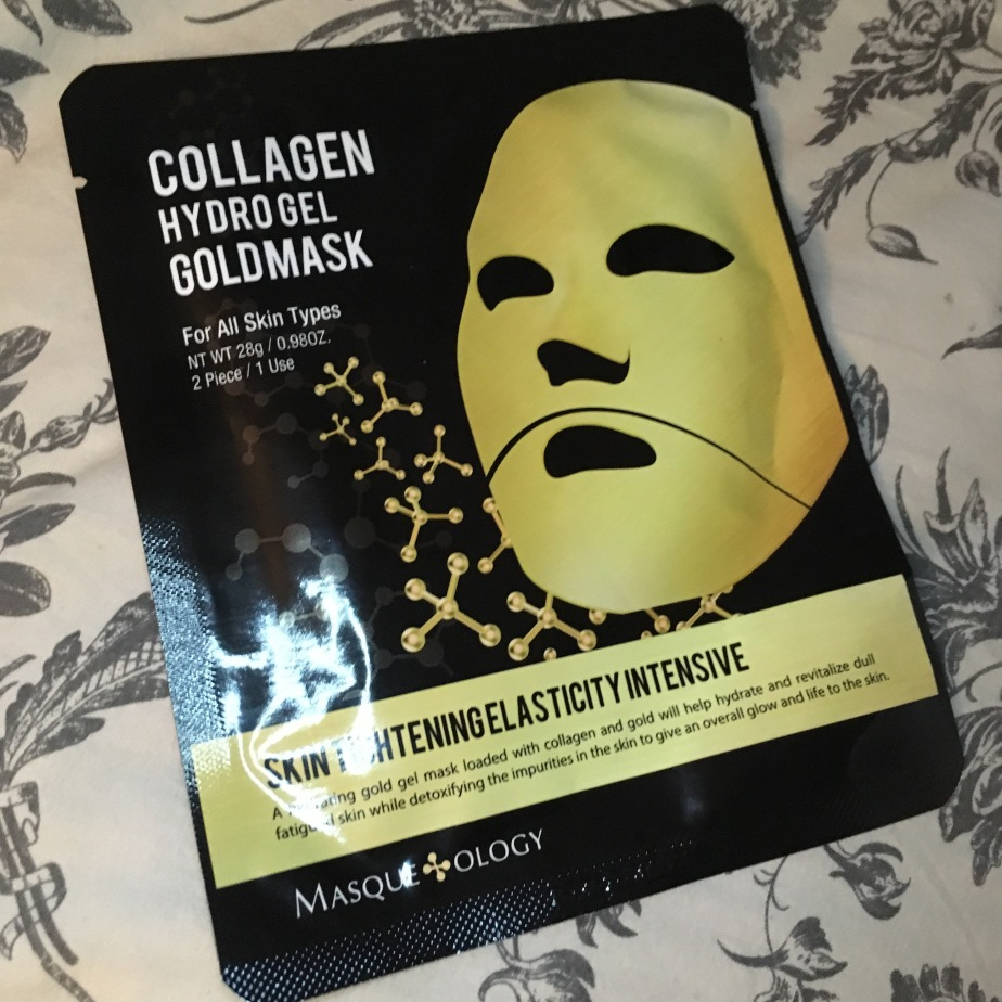 Collagen Hydro Gel Gold Mask Review