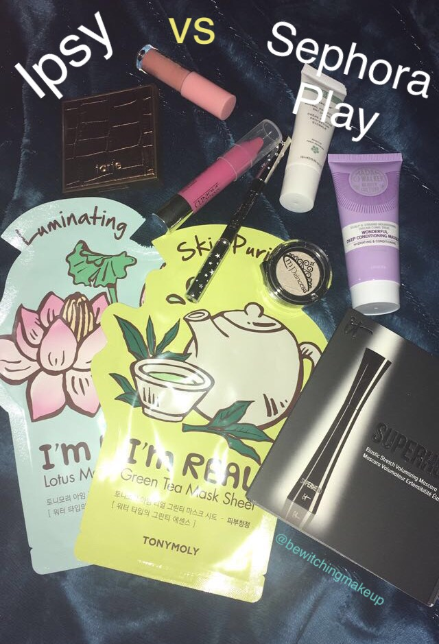 Ipsy vs. Sephora Play: July 2017