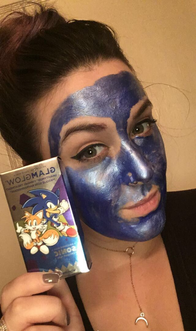 First Impressions: Glam Glow Blue Sonic Mask