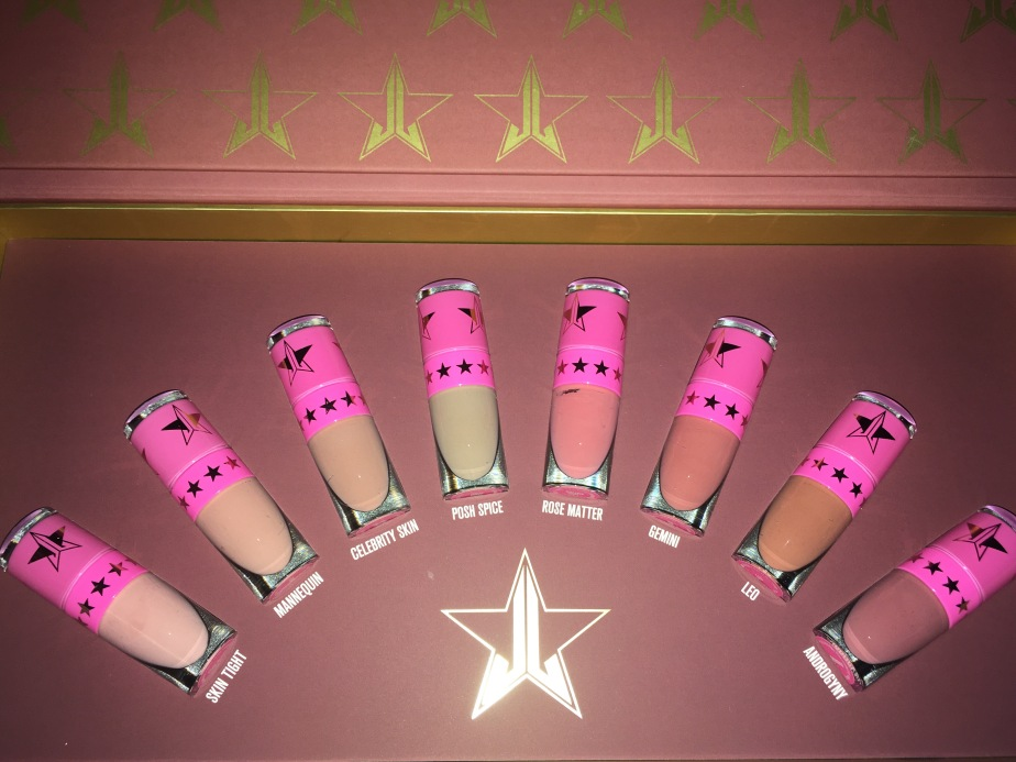 Jeffree Star Cosmetics Mini Nudes Vol. 1: Swatches &Review