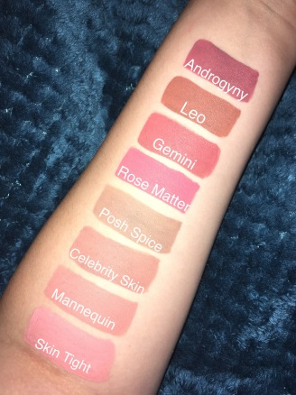Jeffree Star Cosmetics Mini Nudes Bundle Vol. 1